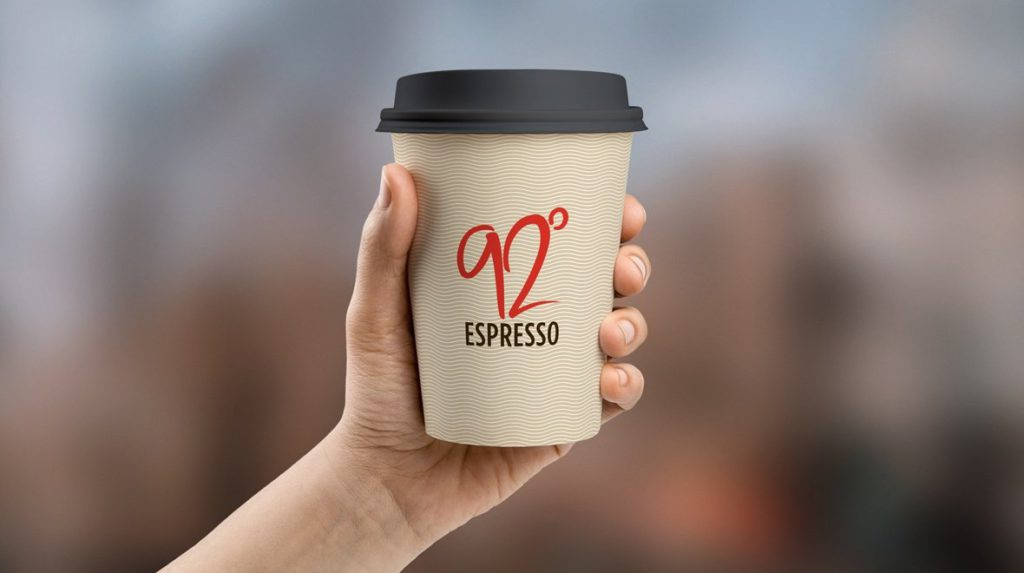 Branded coffee cups About Image