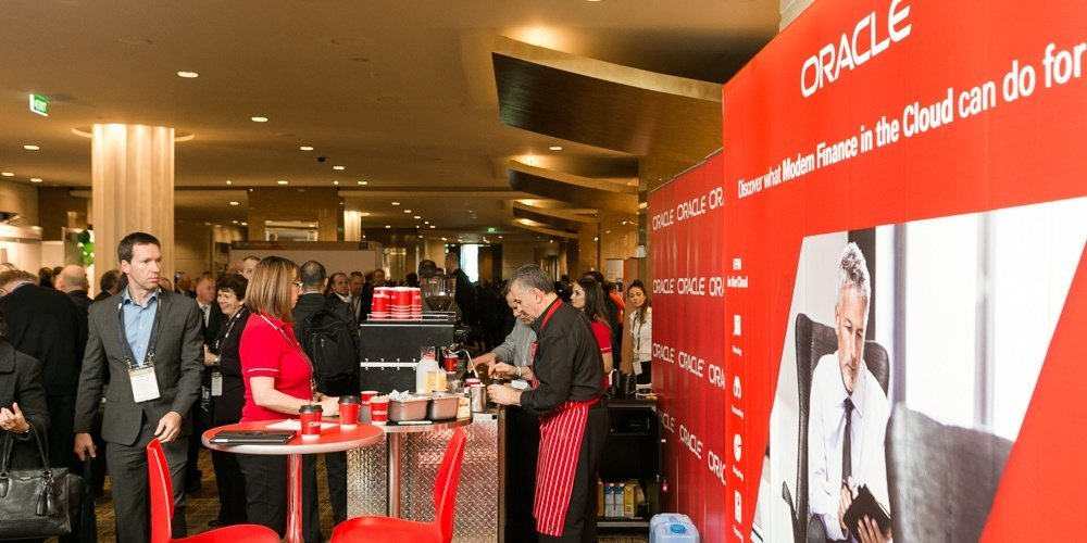 Oracle Corporation Coffee Event